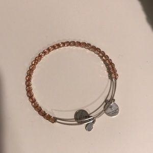 Alex and Ani crystal bracelet